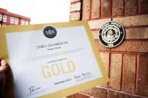 DSA Headquarters Receives LEED Gold Certification