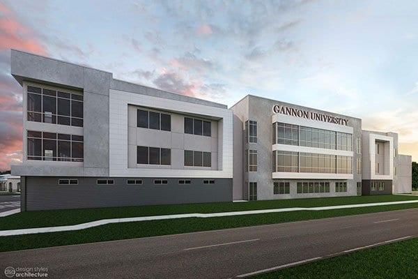 Education Project - GANNON UNIVERSITY RUSKIN CAMPUS ACADEMIC BUILDING